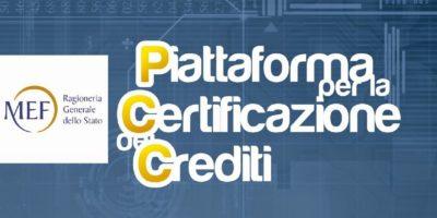 Crediti Certificati MEF Portale Web Del Ministero Dell'Economia E Delle Finanze