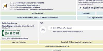Piattaforma Mef Per La Certificazione Dei Crediti Commerciali Aziendali