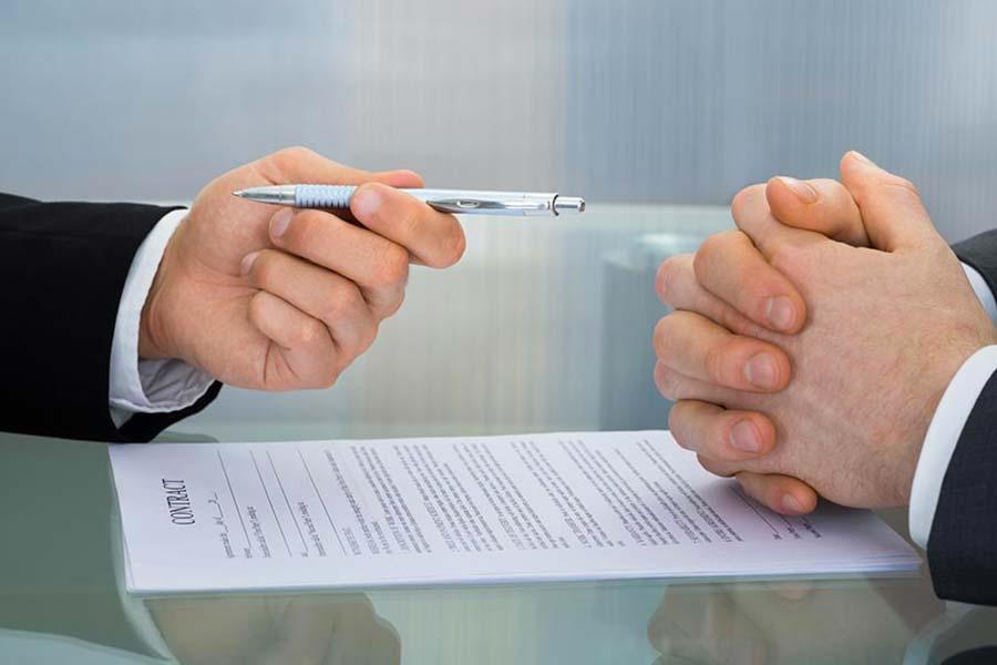 Contratto giuridico tra cessionario e cedente
