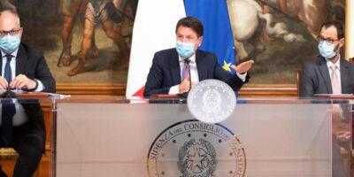 Decreto Ristori Ottobre 2020 Premier Conte