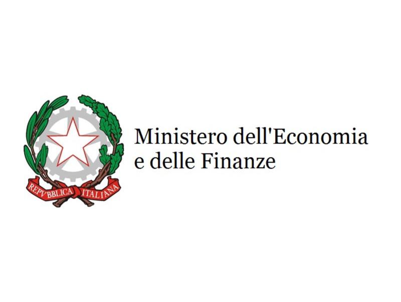 Logo del Ministero dell'economia e delle finanze